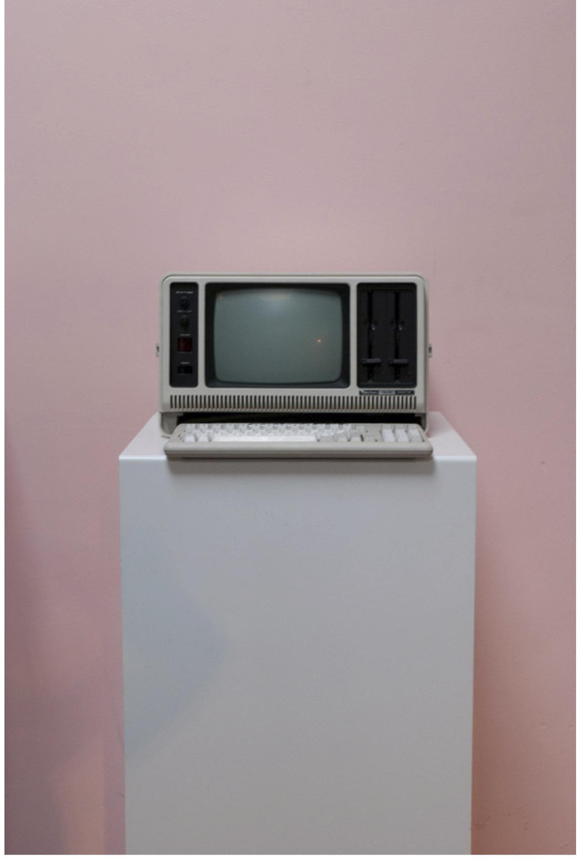 La chambre froide,30X40 cm, 2009, extrait de la série.