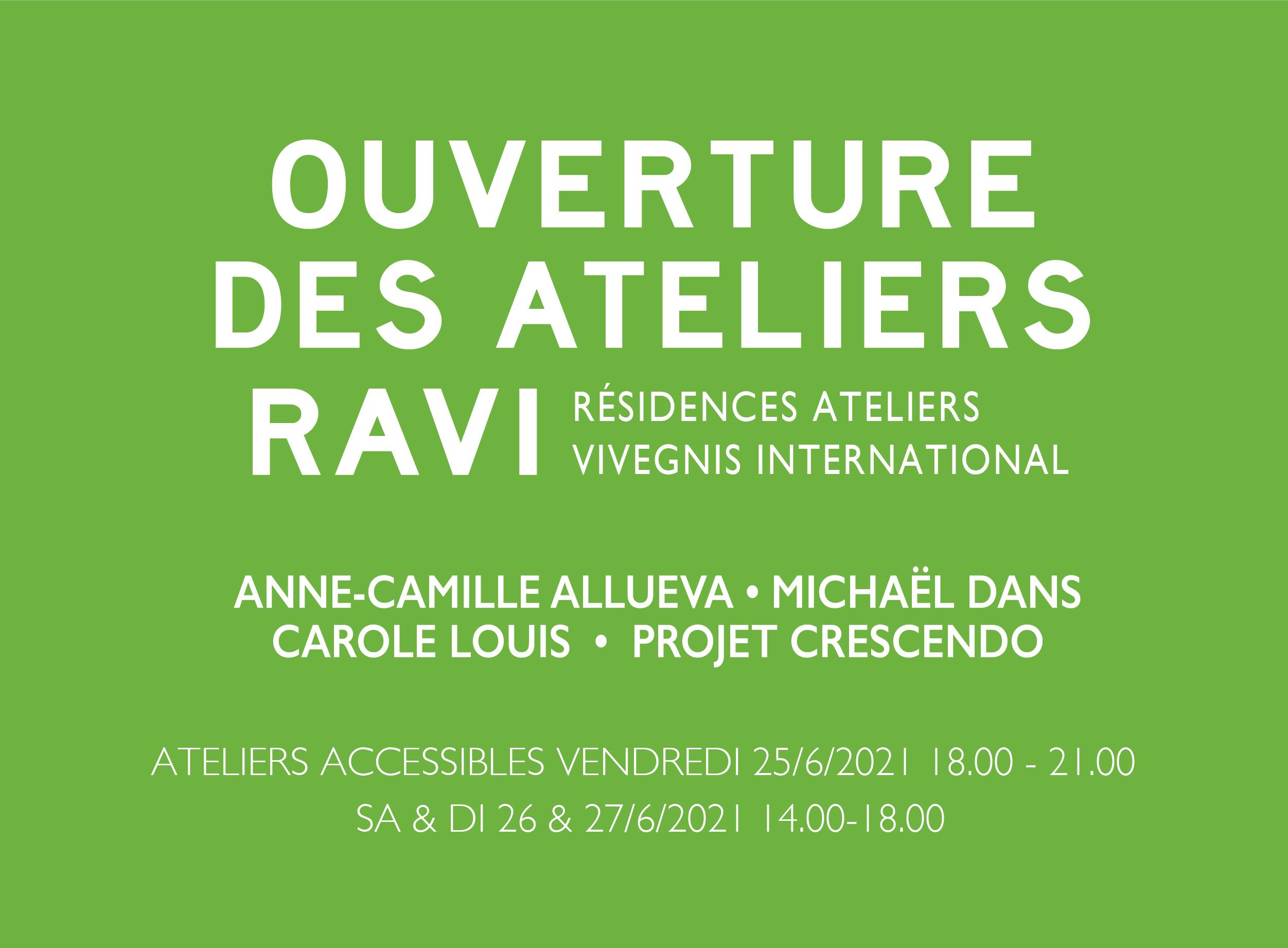 Portes-ouverts RAVI : juin 2021
